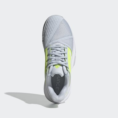Women Tennis Blue CourtJam Bounce Shoes