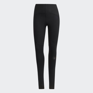 черный Леггинсы для йоги adidas by Stella McCartney