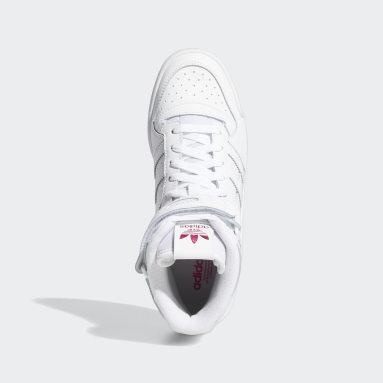 Frauen Originals Forum Mid Schuh Weiß