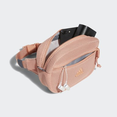 Training Pink Air Mesh Waist Pack