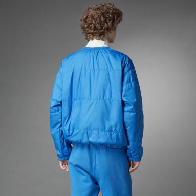 Mænd Originals Blå Blue Version Padded Crew sweatshirt