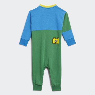 Børn Fitness Og Træning Grøn adidas x LEGO® DUPLO® sparkedragt