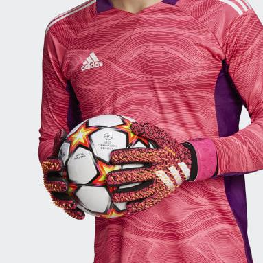 Futbal čierna Brankárske rukavice Predator League