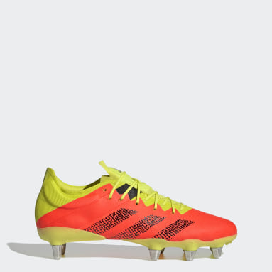 Rugby Orange Kakari Z.0 Soft Ground Boots