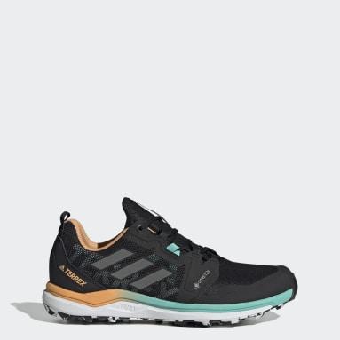 Women's TERREX Black Terrex Agravic GORE-TEX Trail Running Shoes