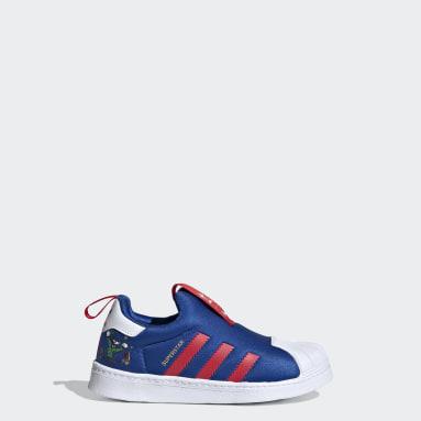 Zapatillas Superstar 360 Azul Niño Originals