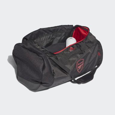 Football Black Arsenal Duffel Bag Medium