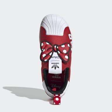 красный Кроссовки-слипоны Superstar 360 X