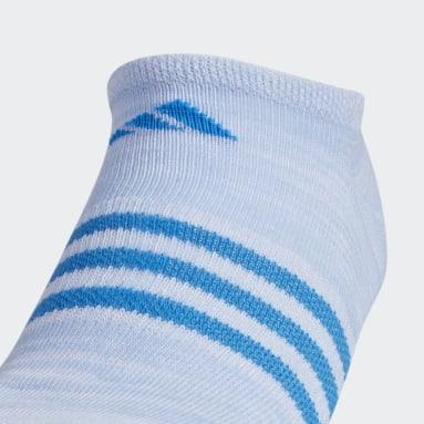 Children Training Multicolor Superlite No Show Socks 6 Pairs