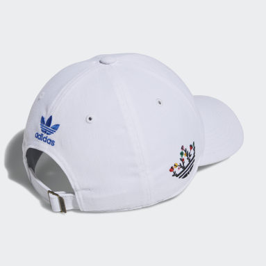 Men's Originals White Treffy Relaxed Hat