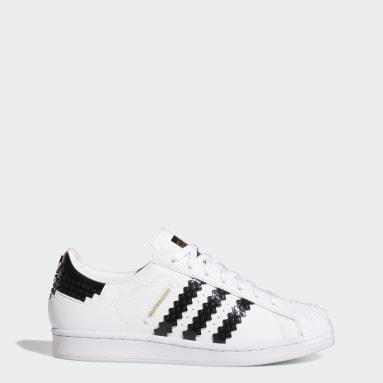 белый Кроссовки adidas Superstar x LEGO®