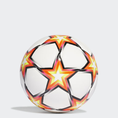 Ballon UCL Mini Pyrostorm Blanc Football