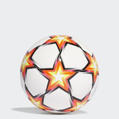 Fußball UCL Pyrostorm Miniball Weiß