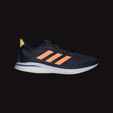 Running Blue Supernova Shoes
