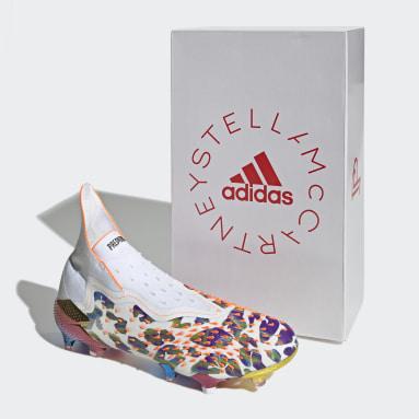 Chaussure Predator Freak+ Paul Pogba x Stella McCartney Terrain souple Blanc Hommes adidas by Stella McCartney