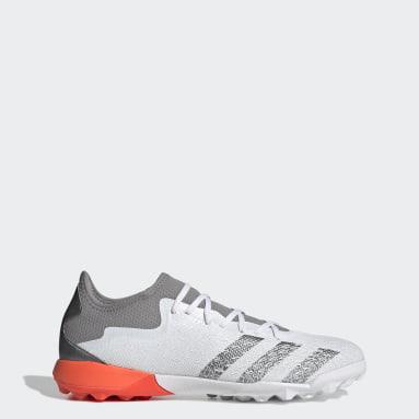 Zapatos de Fútbol Predator Freak.3 Pasto Sintético Blanco Hombre Fútbol