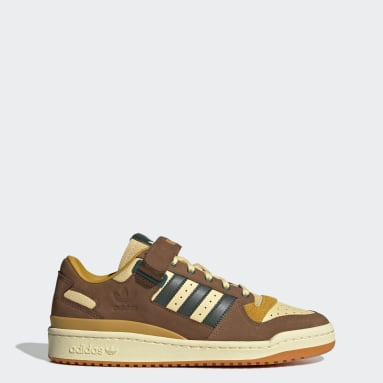 Men Originals Orange Forum Low Shoes