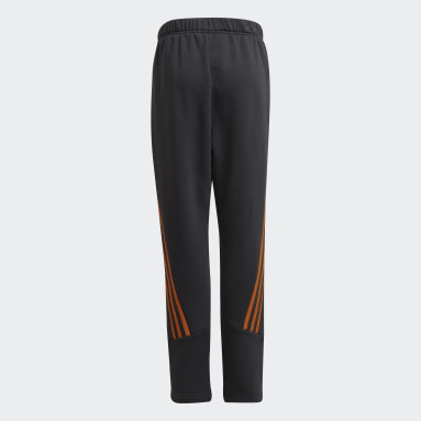 Youth 8-16 Years Training Grey Future Icons Winterized Tapered-Leg Pants