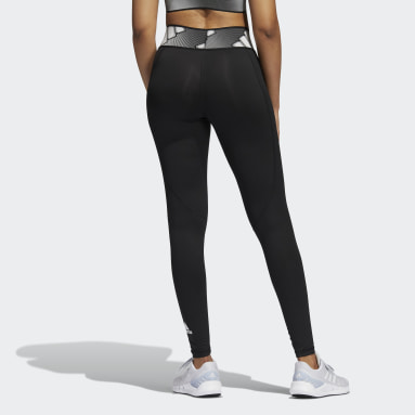 Tight lunghi Techfit adilife Nero Donna Running