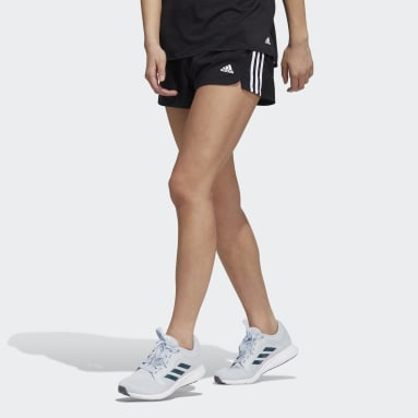 Short Pacer 3-Stripes adilife Nero Donna Running