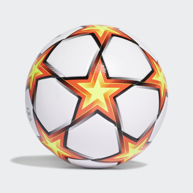 Bola UCL League Pyrostorm Branco Futebol