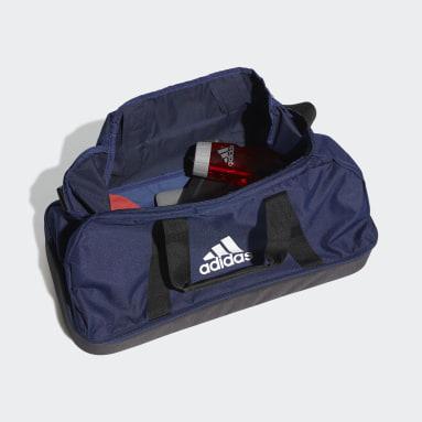 Sac en toile Tiro Primegreen Bottom Compartment Moyen format Bleu Football