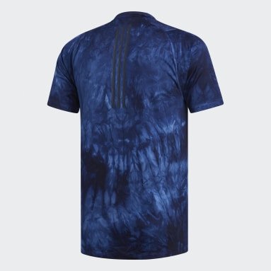Men Yoga Blue FreeLift Parley Tee