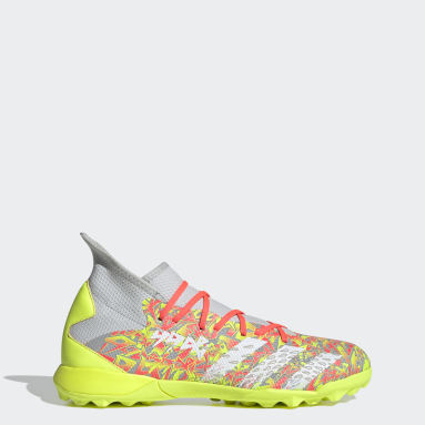 Men's Soccer Grey Predator Freak.3 Turf Shoes
