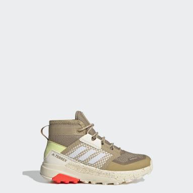 Chaussure de randonnée Terrex Trailmaker Mid RAIN.RDY Beige Enfants TERREX