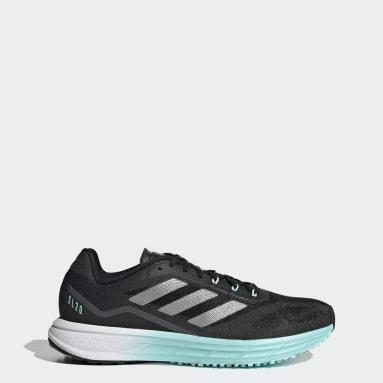 Women Running Black SL20 Shoes