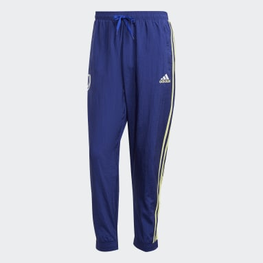 Men's Soccer Blue Juventus Icons Woven Pants