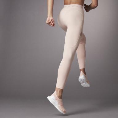 Women Training Pink Hyperglam High-Rise Long Tights