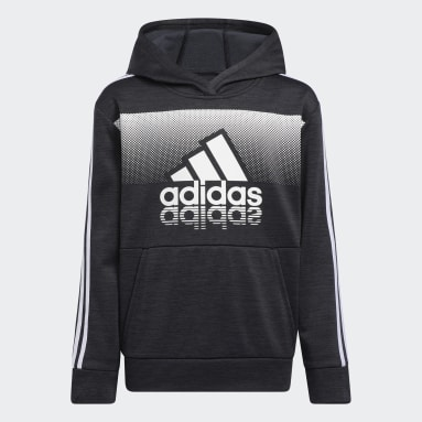 Youth Training Black Fade Horizon Hoodie (Extended Size)
