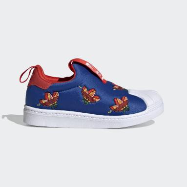 Kids 4-8 Years Originals Blue Superstar 360 Shoes