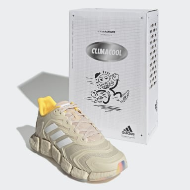 Chaussure Climacool Vento Beige Running