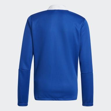 Veste de survêtement Tiro 21 Bleu Adolescents Soccer