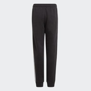 Jongens Sportswear Zwart adidas Essentials 3-Stripes Broek