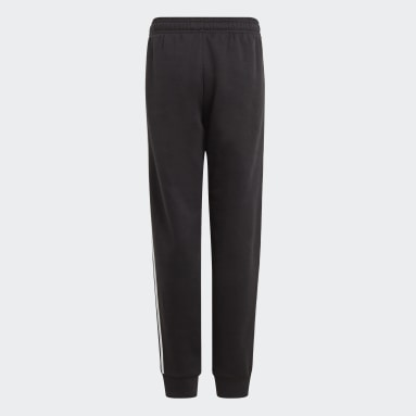 Pantalon adidas Essentials 3-Stripes Noir Garçons Sportswear