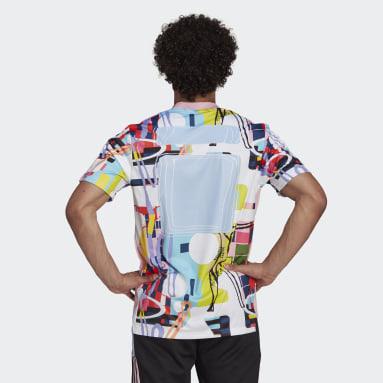 Camisa adidas Love Unites Tiro Rosa Futebol