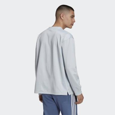 Sweat-shirt adidas SPRT Logo Crewneck Bleu Hommes Originals