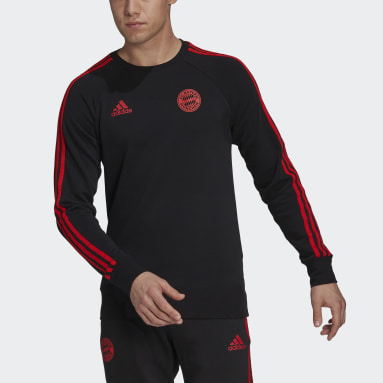 Sudadera FC Bayern Negro Hombre Fútbol