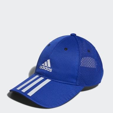 Kids Training Blue Mesh Cap