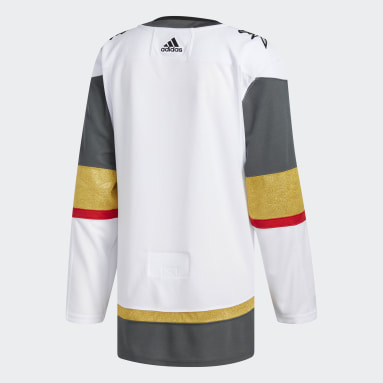 Men's Hockey White Golden Knights Away Authentic Jersey
