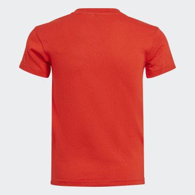 Camiseta adidas x Classic LEGO® Rojo Niño Gimnasio Y Entrenamiento