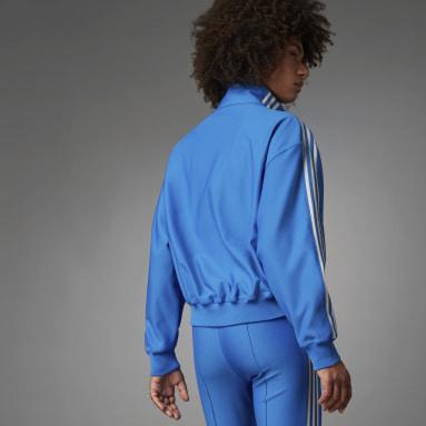 Women Originals Blue Blue Version Loose Beckenbauer Track Top