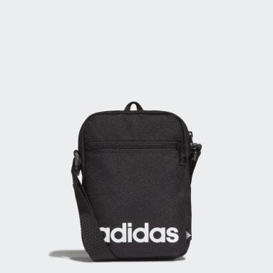 Lifestyle Black Essentials Logo Shoulder Bag