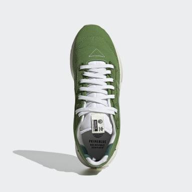 Tenis Geodiver Primeblue Verde Hombre Originals