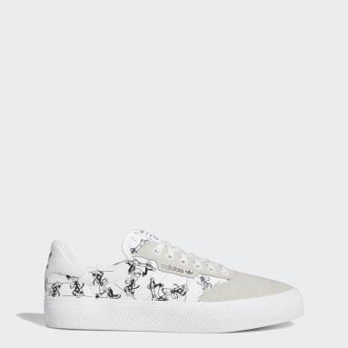 Originals White 3MC x Disney Sport Goofy Shoes