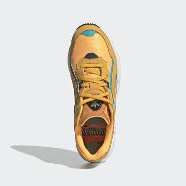 Tenis Yung-96 Chasm Naranja Hombre Originals