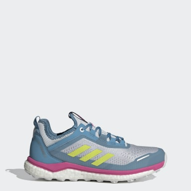 Women's TERREX Blue Terrex Agravic Flow Trail Running Shoes